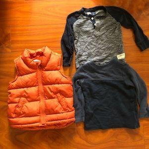 Frost free vest  🍊& long sleeves